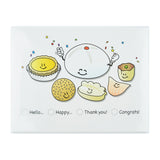 Dim Sum Note Cards by Hello Sushi Store