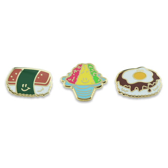 Hawaiian Pins (Set of 3)