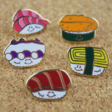 Sushi Pins by Hello Sushi Store