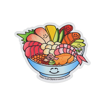 Chirashi Sticker by Hello Sushi Store