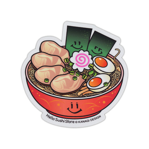 Japanese Sticker (Ramen) - Hello Sushi Store