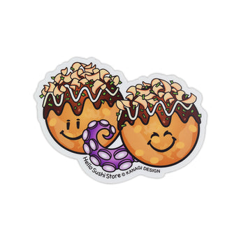 Takoyaki Sticker by Hello Sushi Store