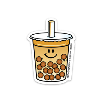 Milk Tea Boba Sticker by Hello Sushi Store