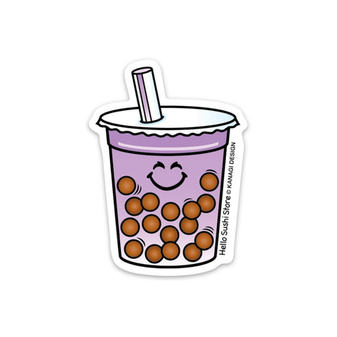 Taro Boba Sticker by Hello Sushi Store