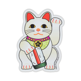 Spam Maneki Neko Sticker by Hello Sushi Store