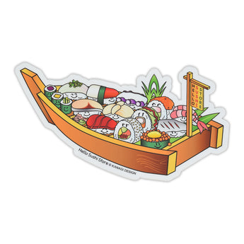 Sushi Boat Sticker by Hello Sushi Store