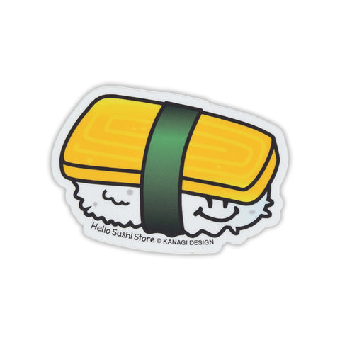 Tamago Sushi Sticker by Hello Sushi Store