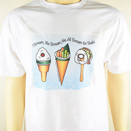 Sushi Ice Cream T-Shirt - Hello Sushi Store