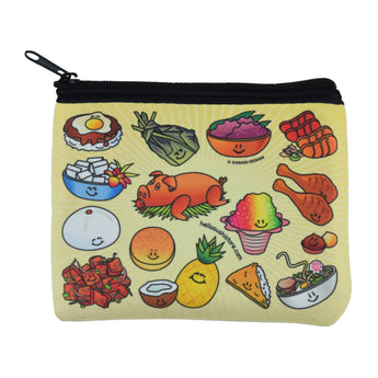 Hawaiian Zip Pouch by Hello Sushi Store