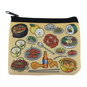 Korean Zip Pouch (Small) - Hello Sushi Store