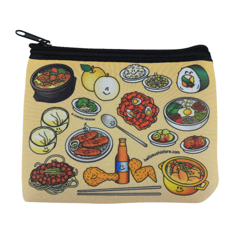 Korean Zip Pouch by Hello Sushi Store