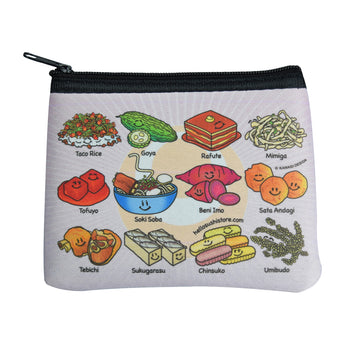 Okinawan Zip Pouch by Hello Sushi Store