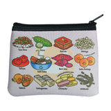 Okinawan Zip Pouch (Small) - Hello Sushi Store