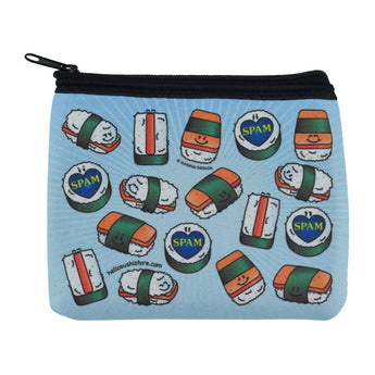 Spam Musubi Zip Pouch by Hello Sushi Store