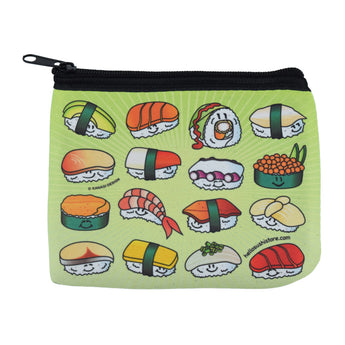 Sushi Zipper Pouch by Hello Sushi Store