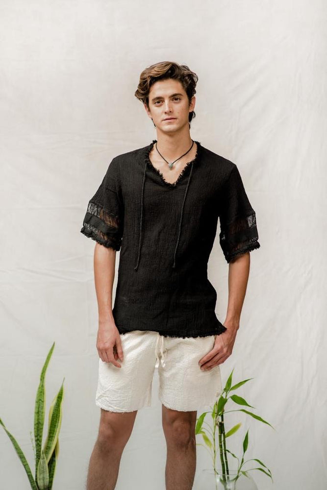 Quentin Black Shirt