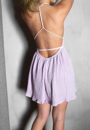Load image into Gallery viewer, Milos Lilac Dress