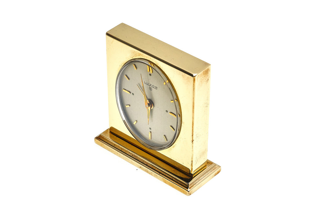 Hermes 8-Day Table Clock