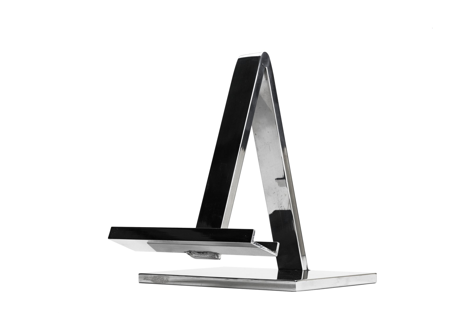 Polished Aluminium Tabletop Easel
