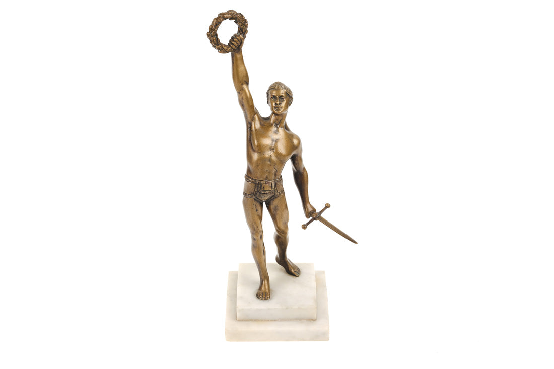 Neo-classical Bronze of an Athlete
