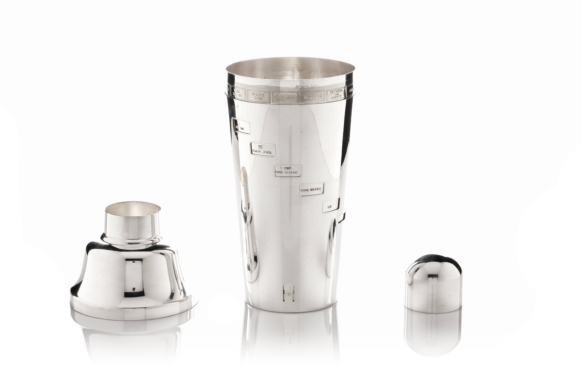Napier 'Recipe' Cocktail Shaker