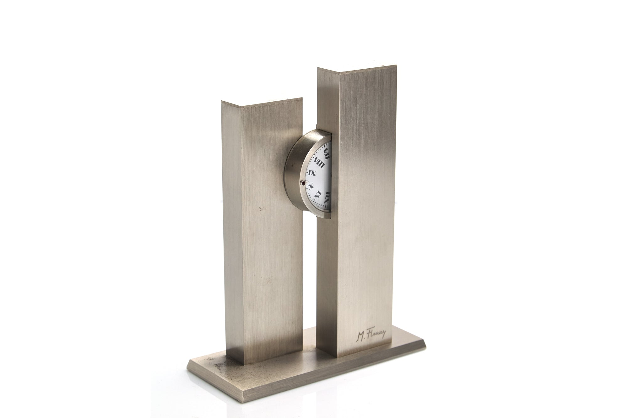 Modern Table Clock, M.Fleury