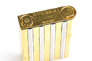 Bvlgari Gold & Silver Lighter