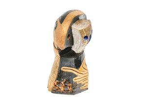 Doug Rochelle Abstract Ceramic Head