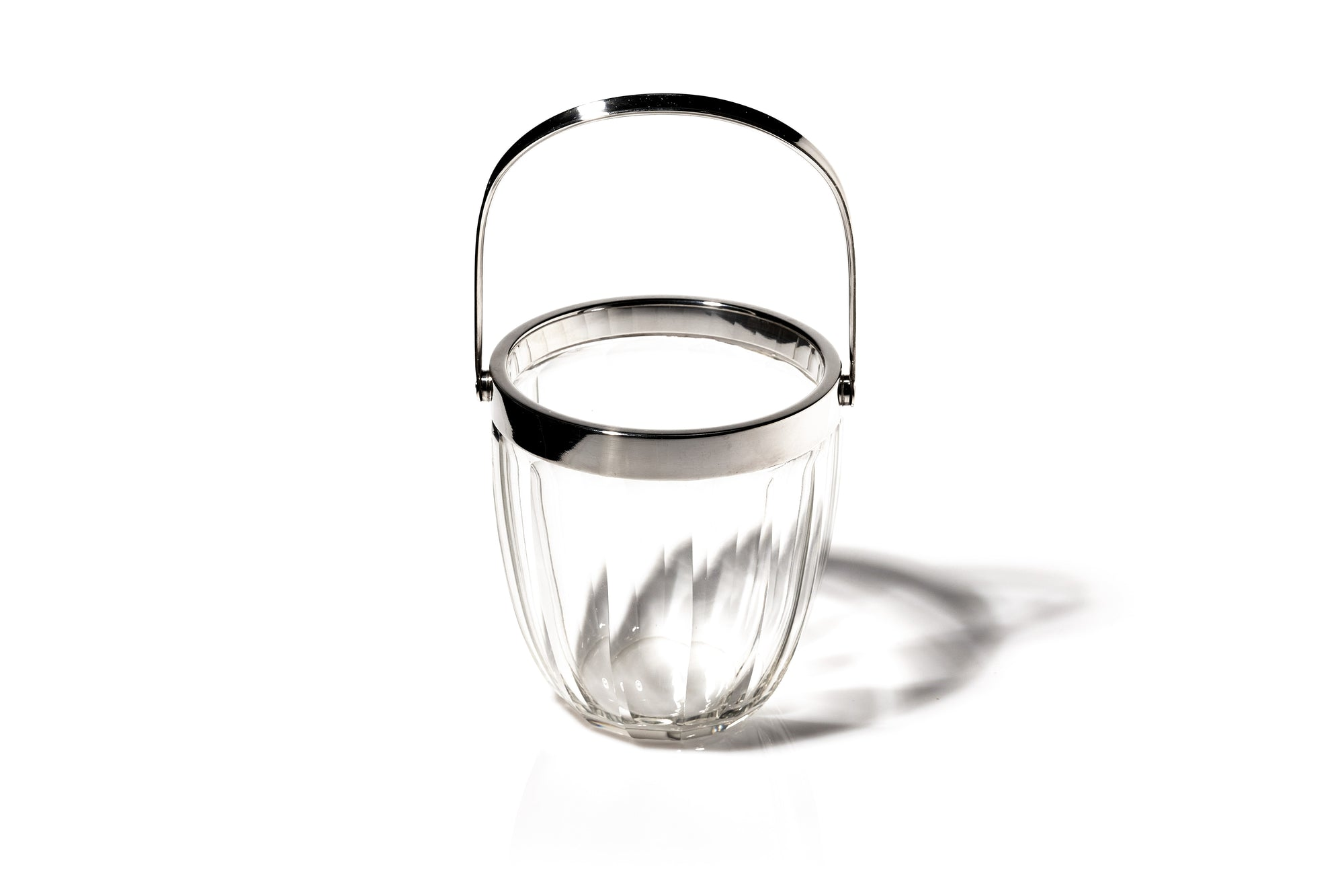 Crystal Ice Bucket, French