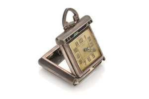 Sterling & Enamel Deco Purse Watch