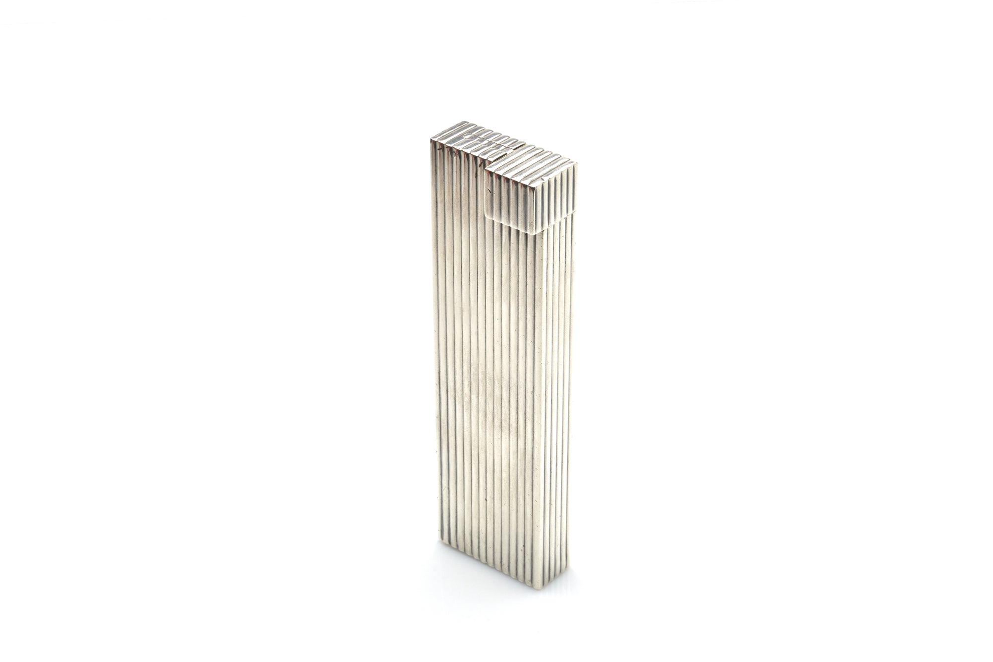 Cartier Sterling Silver Table Lighter, 1930s