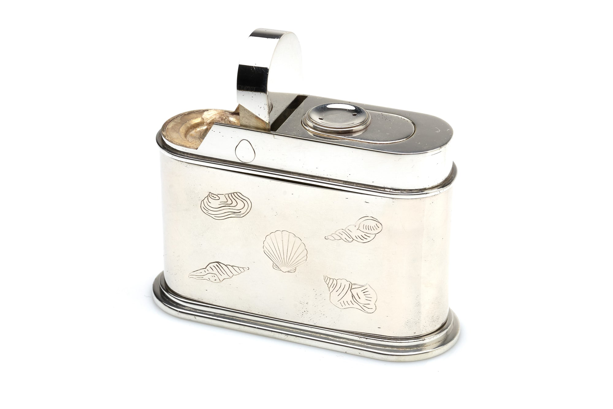 Cartier Sterling Silver Lighter, 1950s