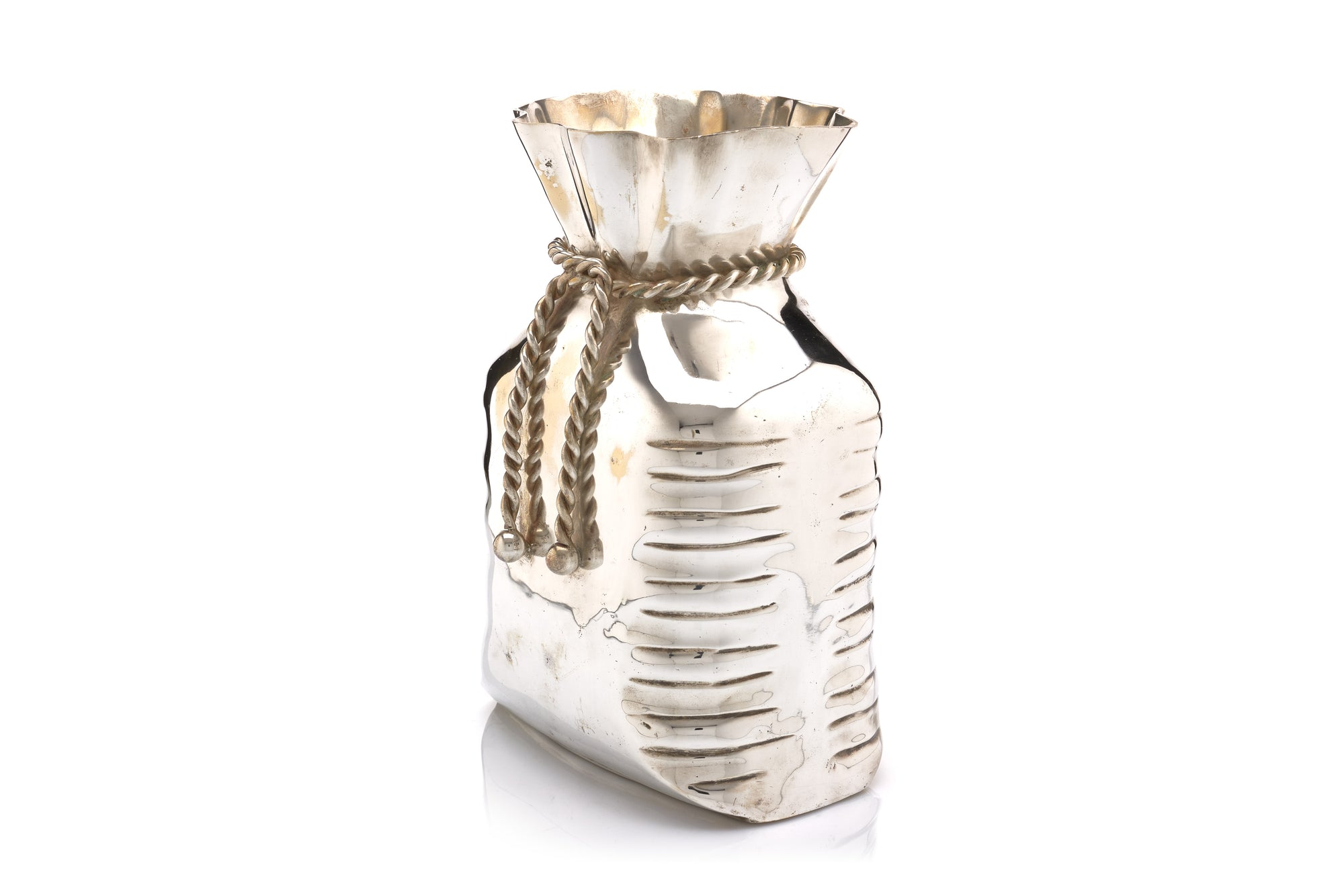 French Money Bag Vase