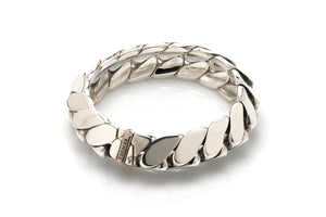 Hermes Sterling Articulated Bracelet