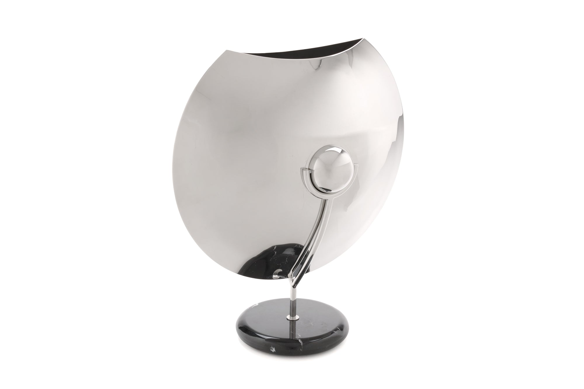 Brueton Chrome Vase