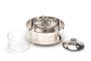 Christian Dior Silver and Crystal Caviar Service