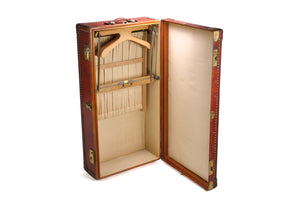 Rare Hermes Leather Wardrobe Trunk