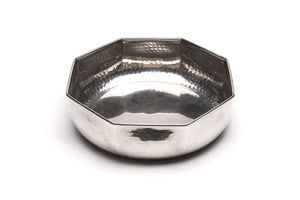 Christian Dior Hammered Silver Bowl