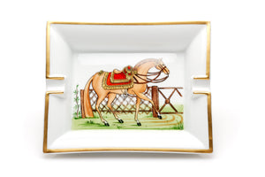 Hermes Ashtray, Horse