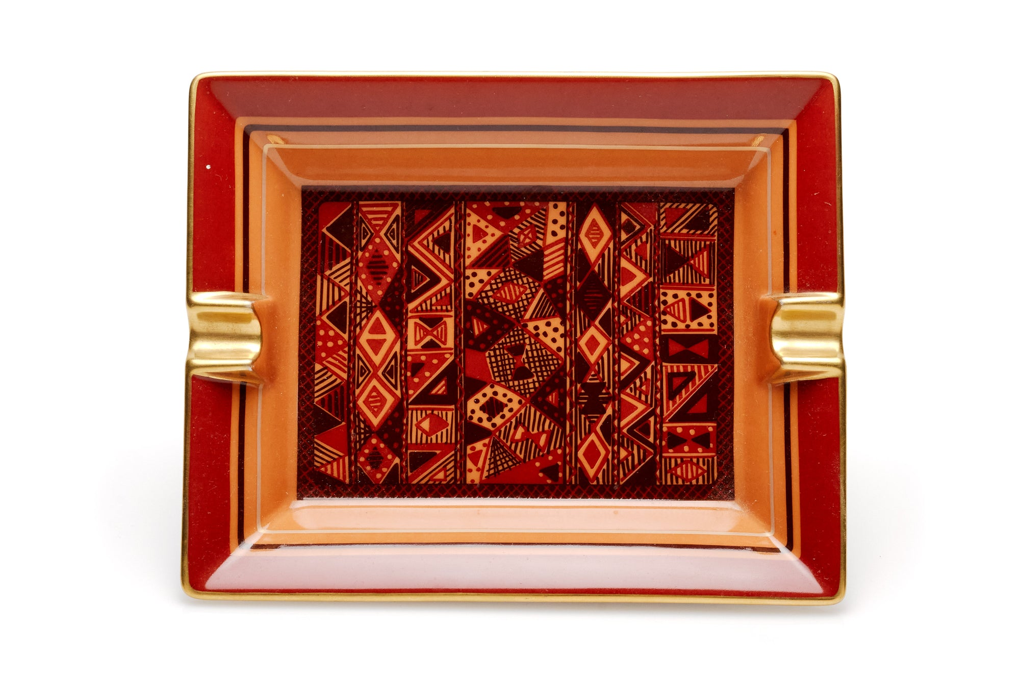 Hermes Ashtray, Geometric Pattern