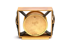 Hermes Leather Belt Buckle Clock