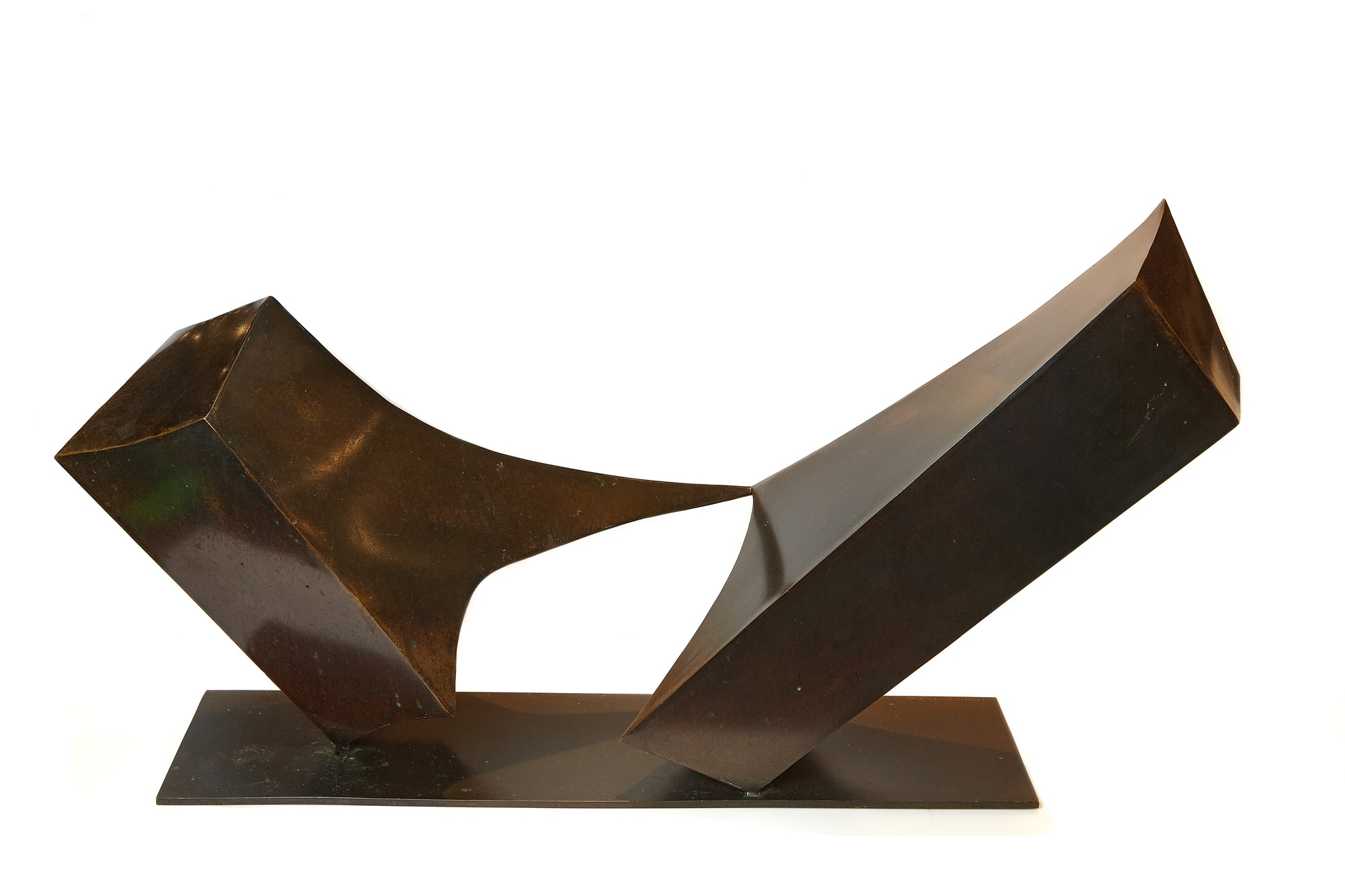 Large Abstract Bronze, Homer Gunn