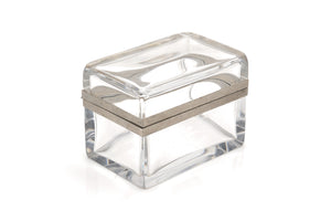 Italian Crystal Table Box