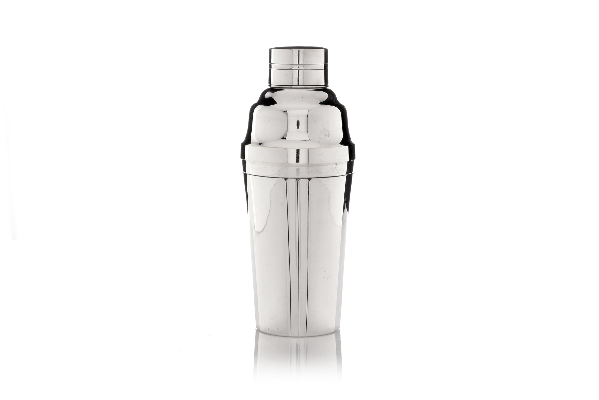 French Cocktail Shaker, 3 Stripes