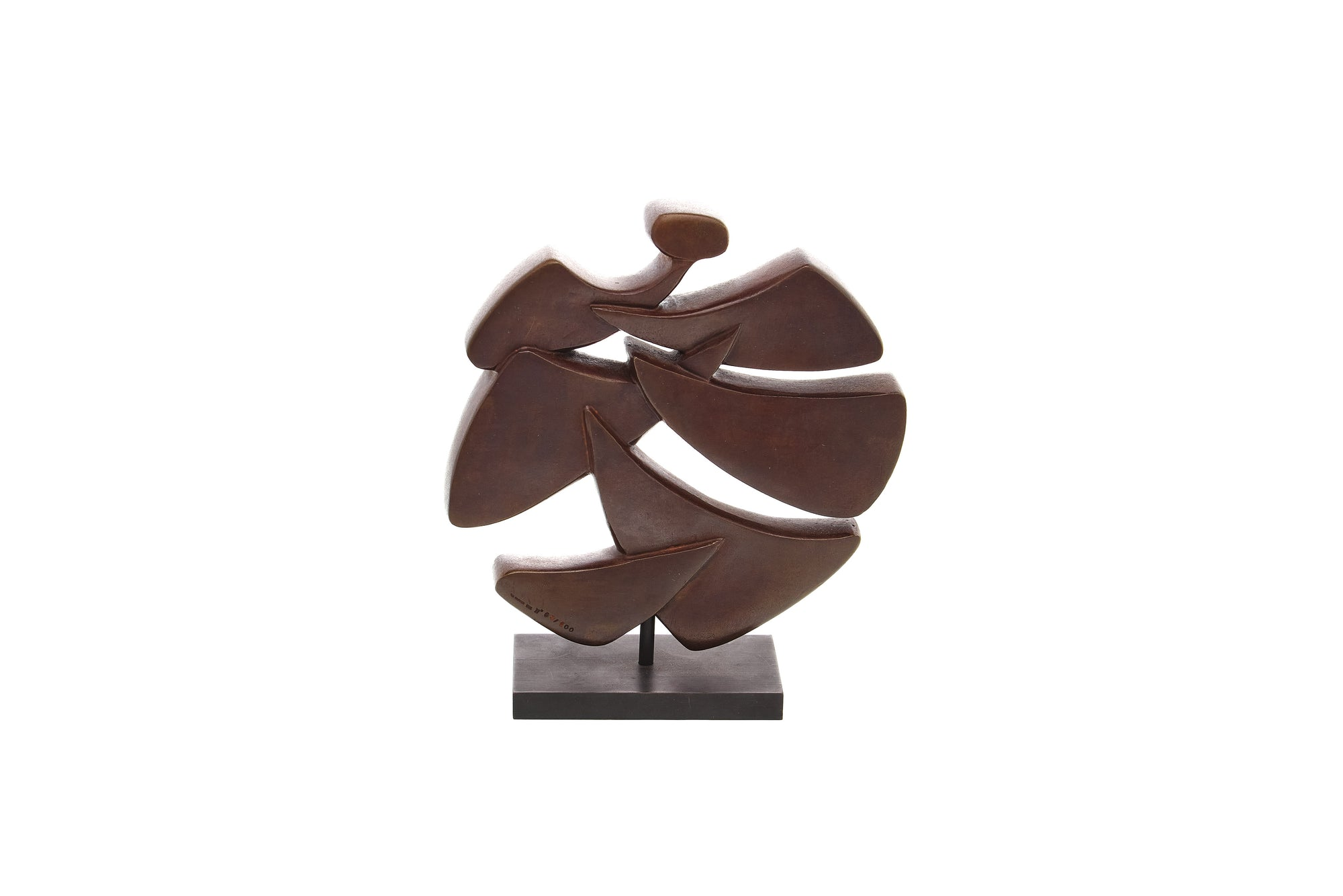 French Bronze Modernist Sculpture