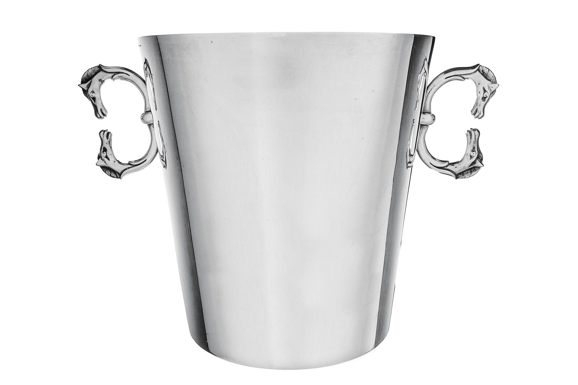 Hermes Champagne Bucket, Double Horsehead