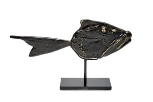 Bronze Fish Sculptures, Yorgos Kypris