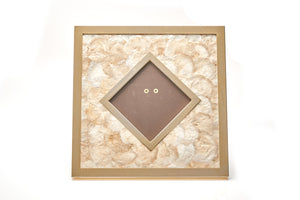 Large Capiz Shell Picture Frame, Italian