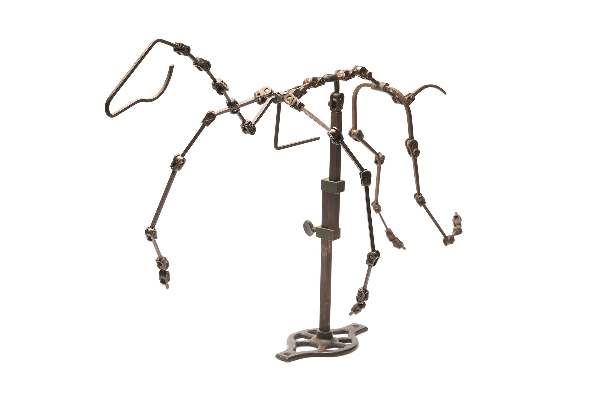 Rare French Articulated Horse Model