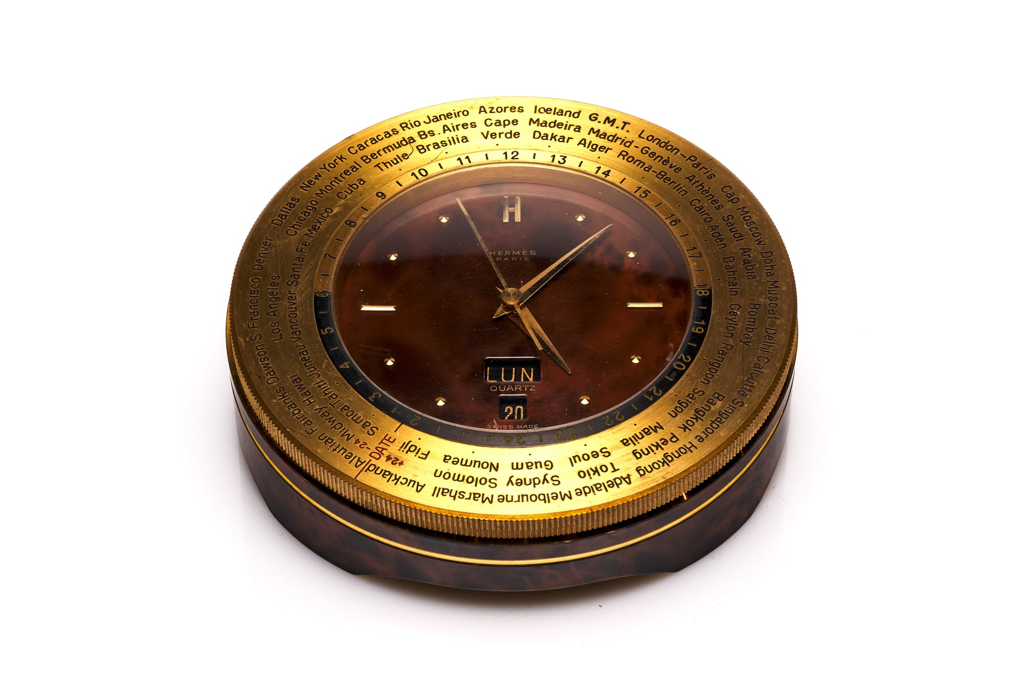 Hermes World Time Clock